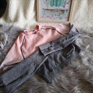 Gymshark Pink Ombré Long Sleeve Crop